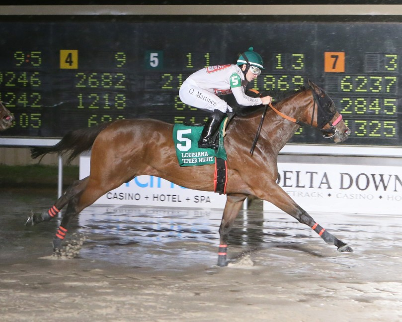ELEGANT IDEA - The LA Bred Bon Temps Starter - 14th Running - 02-10-18 - R04 - DED - Finish 1