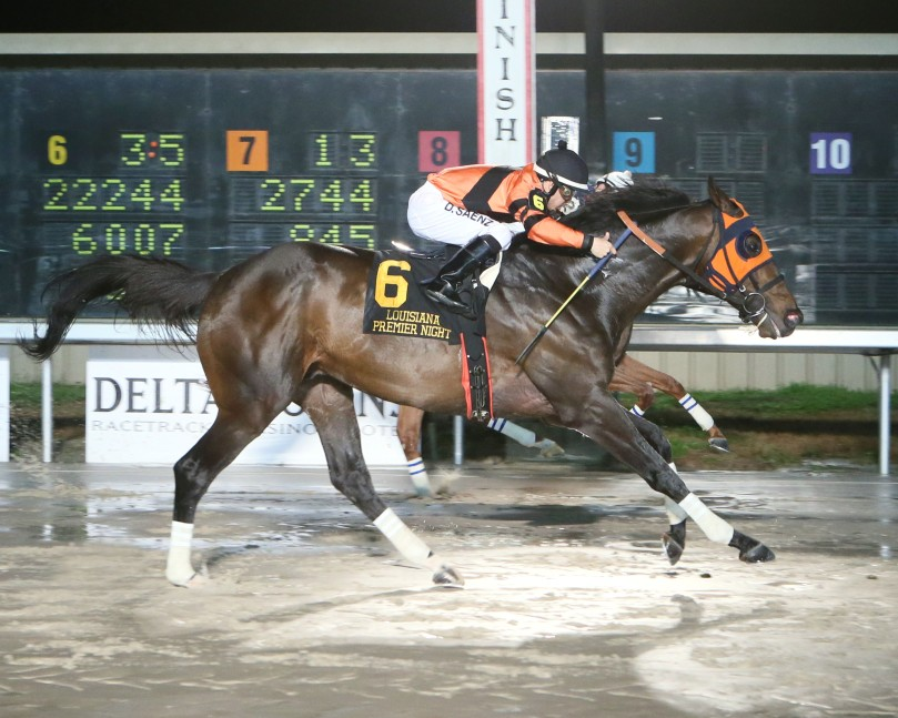 MOBILE BAY - The LA Bred Night Championship - 15th Running - 02-10-18 - R09 - DED - Finish