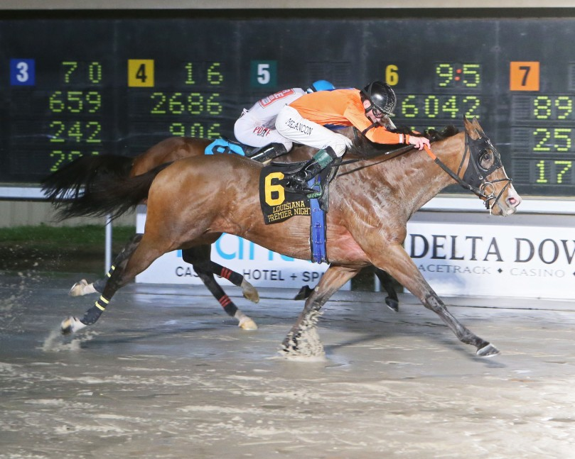MONTE MAN - The LA Bred Night Sprint - 15th Running - 02-10-18 - R08 - DED - Finish