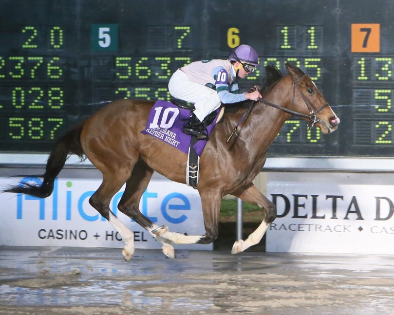 THEORYINTOPRACTICE - The LA Bred Gentlemen Starter - 14th Running - 02-10-18 - R06 - DED - Finish